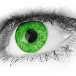 היהלום עם העינים הירוקות