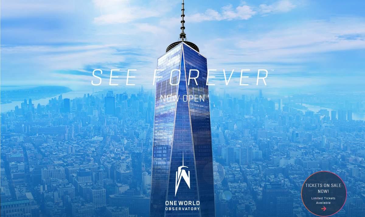 ביקור במרכז הסחר העולמי החדש בניו יורק