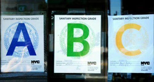 איך לדעת שמסעדה באמת נקייה בניו יורק – ציון למסעדות בניו יורק