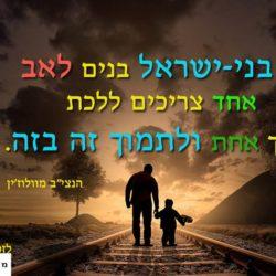 """הנצי""""ב מוולוז'ין על אהבת ישראל"""