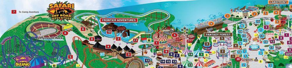 סיקס פלאגס ניו ג'רזי – Six Flags Great Adventure