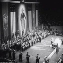 1939 במדיסון סקוור גארדן בניו-יורק נערך הראלי הנאצי