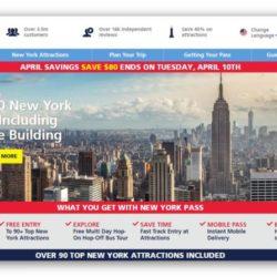 The New York Pass – הניו יורק פס קופון