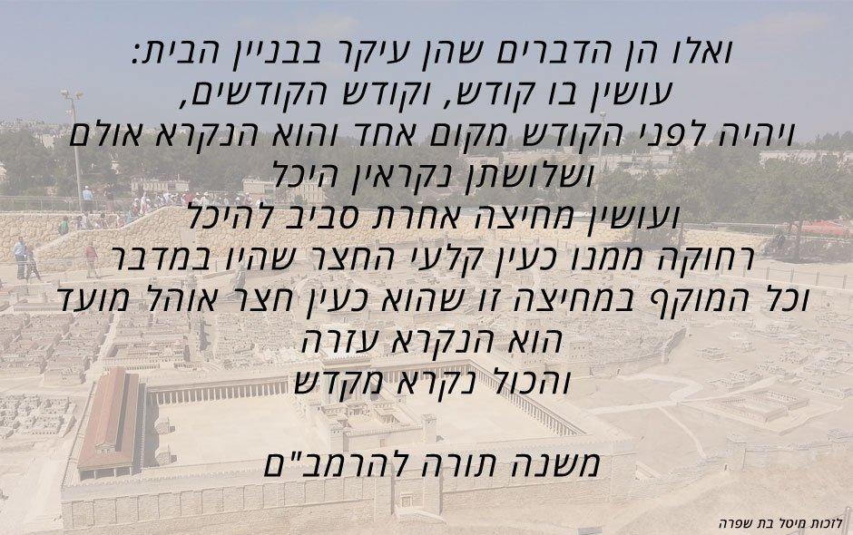 """הלכות-בית-הבחירה-לרמב""""ם"""