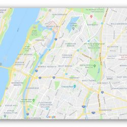 מה היא השכונה הצפונית ביותר במנהטן?